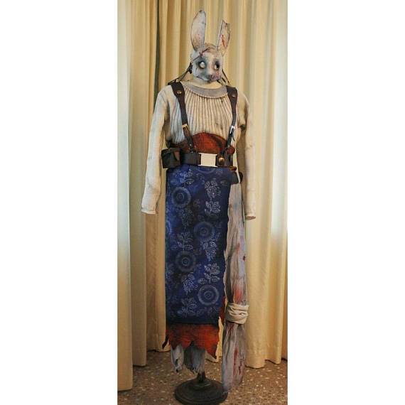Dead By Daylight Huntress Cosplay Axes Masquarade Halloween Horror Costume In 2021 Horror Costume Huntress Cosplay Cosplay Outfits