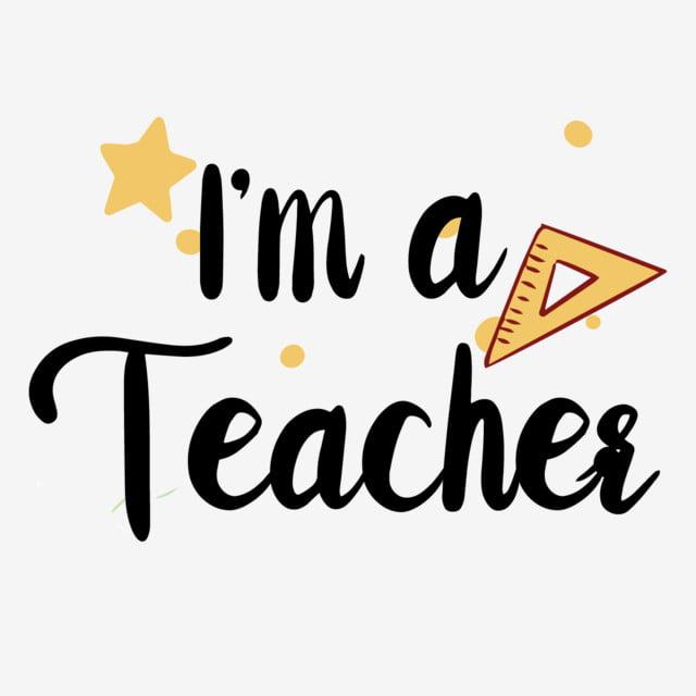 Simple Handwritten Super Teacher Svg Phrase Super Teacher Teacher Logo Teacher Cartoon