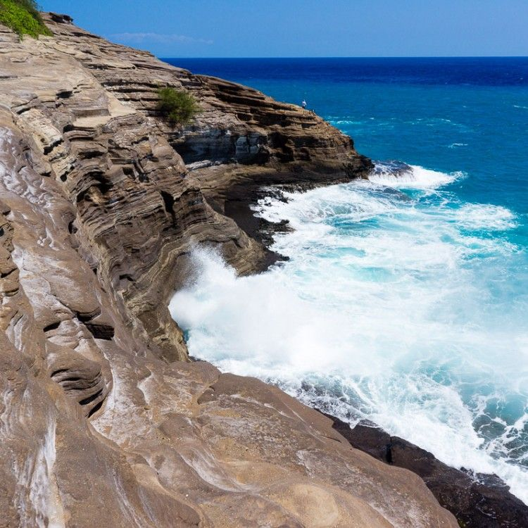 How To Get To Spitting Caves Near Portlock