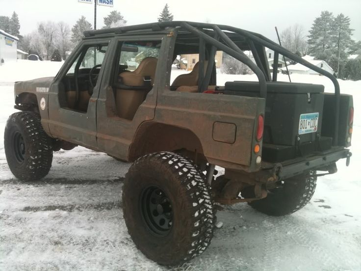 Jeep Grand Cherokee Chop Top Project Military Cherokee Revamped