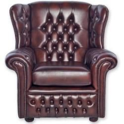 Photo of Wing chair leather
