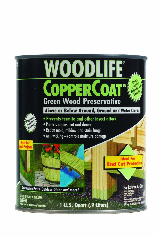 RustOleum 1904A CopperCoat Green Wood Preservative