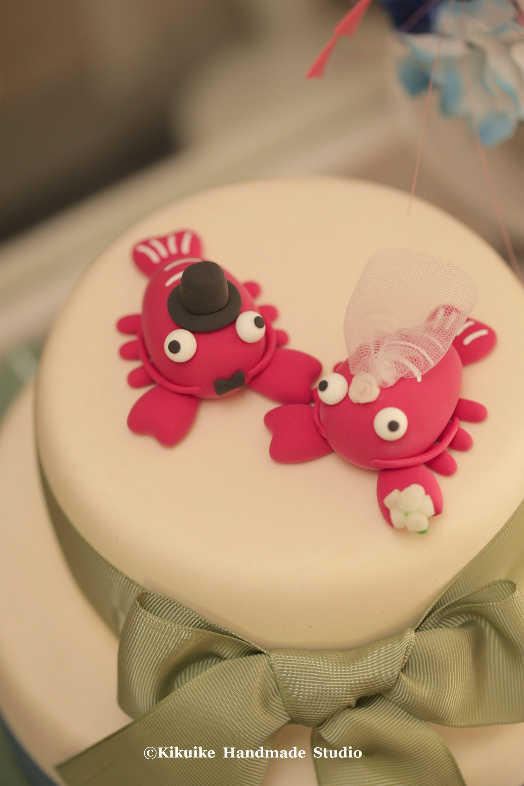 lobster Wedding Cake Topper---k623 | Ocean Animal Cake Topper ...