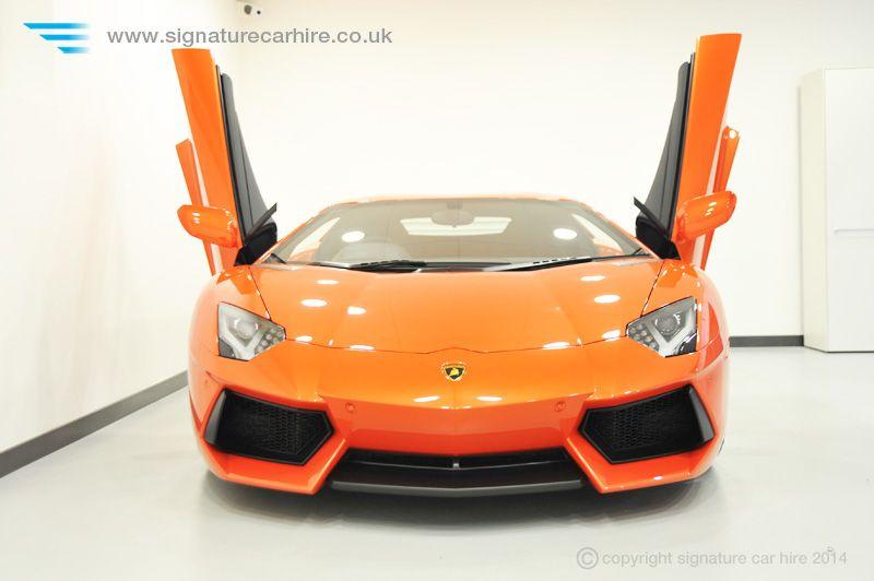 Lamborghini Aventador Lp700 4 Orange Signature Car Hire
