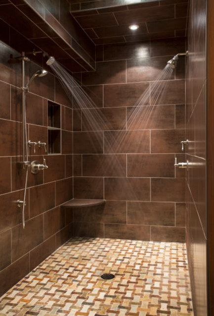 Cross My Heart And Look Up To The Sky Two Shower Heads And A