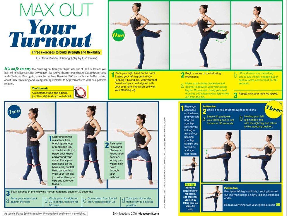 Max Out Your Turnout Ballet Exercises Dance Technique Ballet Technique