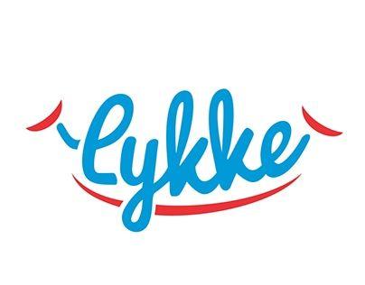 Check Out New Work On My Behance Portfolio Lykke Logo Presentation Brand