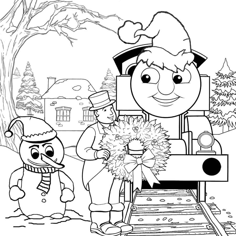 Preschool Winter Coloring Page Coloring pages winter