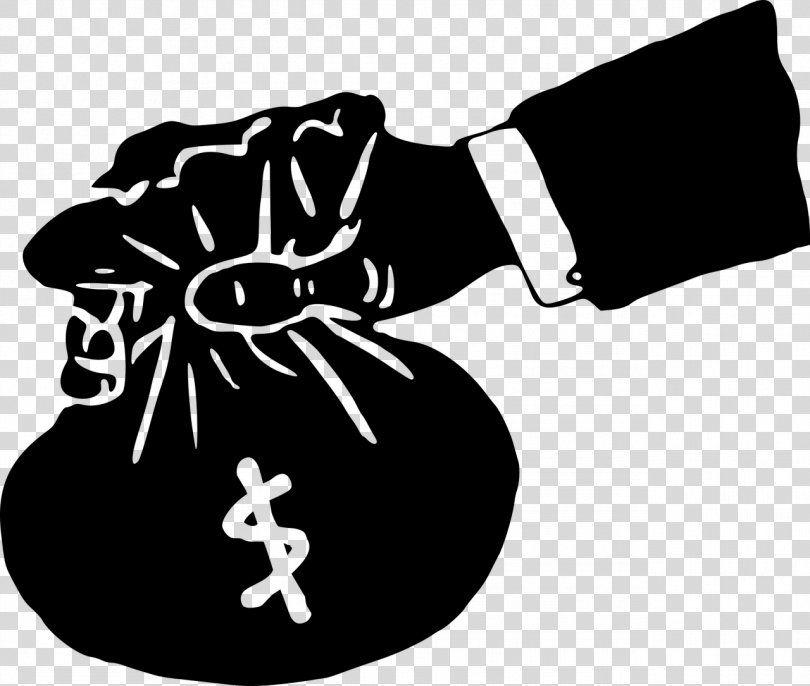 Money Bag Clip Art Money Bag Png Money Bag Bag Black Black And White Coin Clip Art Money Bag Bag Clips