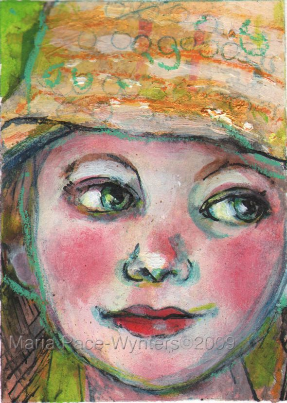 aceo-girl-in-the-sequined-hat, Maria Pace_Wynters
