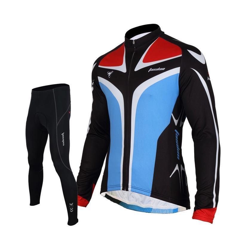 58.69$  Buy here - http://alildb.worldwells.pw/go.php?t=32656603763 - Tasdan Cheap Cycling Jerseys Bike Suit Cycling Jersey Top Long Short Sleeve Bicycle Wear Best Men Suit Sportswear 58.69$