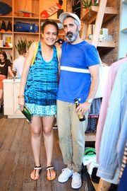 20f335fa47a Bantu founder Yodit Eklund with Chris Gentile of Pilgrim Surf - PILGRIM  SURF X BANTU