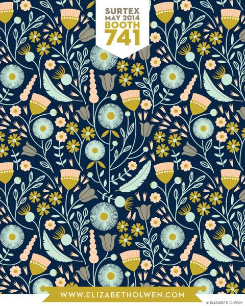 I think what I like most about this Elizabeth Olwen pattern in the colours!