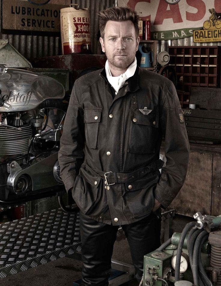 Ewan Mcgregor For Belstaff Motorcycle Jacket Discover