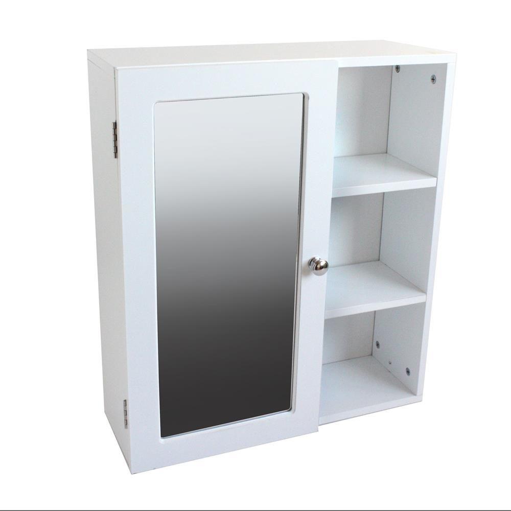 Bathroom Wall Cabinet With Mirrored Door | Bathroom Cabinets ...