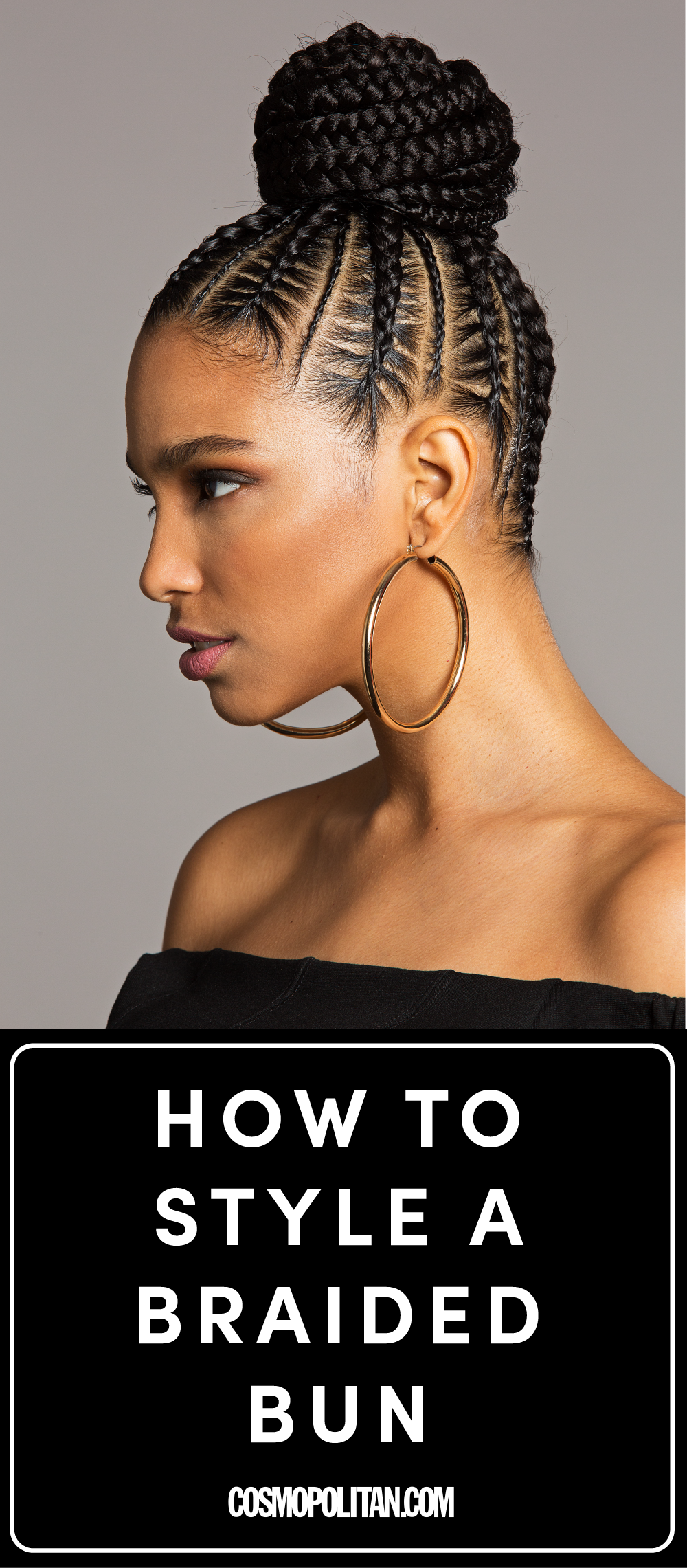 Youure going to want to wear this bomb braided bun all summer long