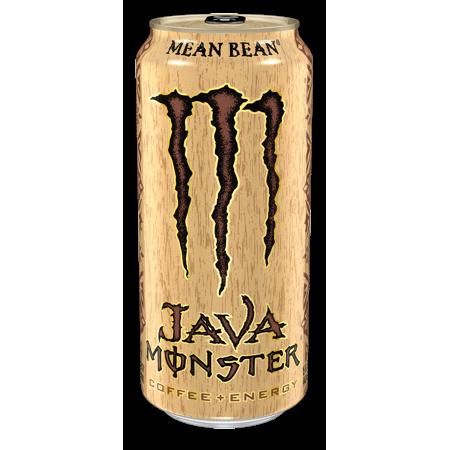 Java Monster Mean Bean Coffee Energy Drink 11 Fl Oz 4 Count Walmart Com In 2021 Monster Energy Drink Coffee Energy Monster Energy
