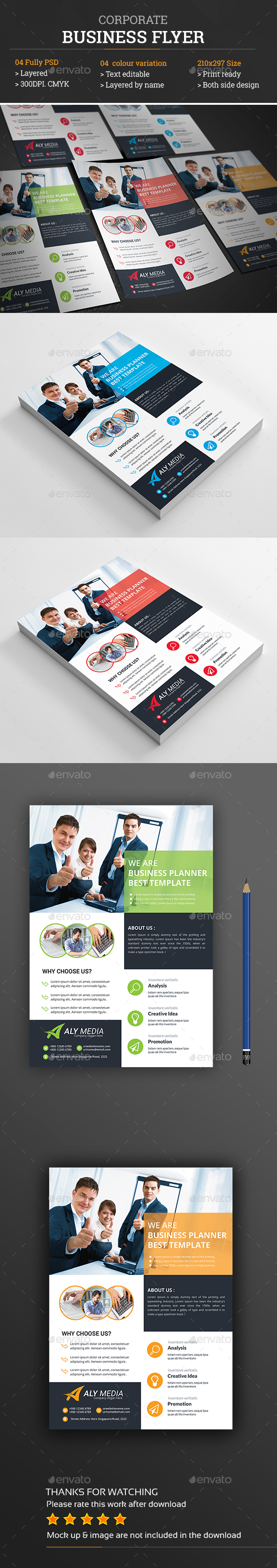 Flyer Template PSD Download here