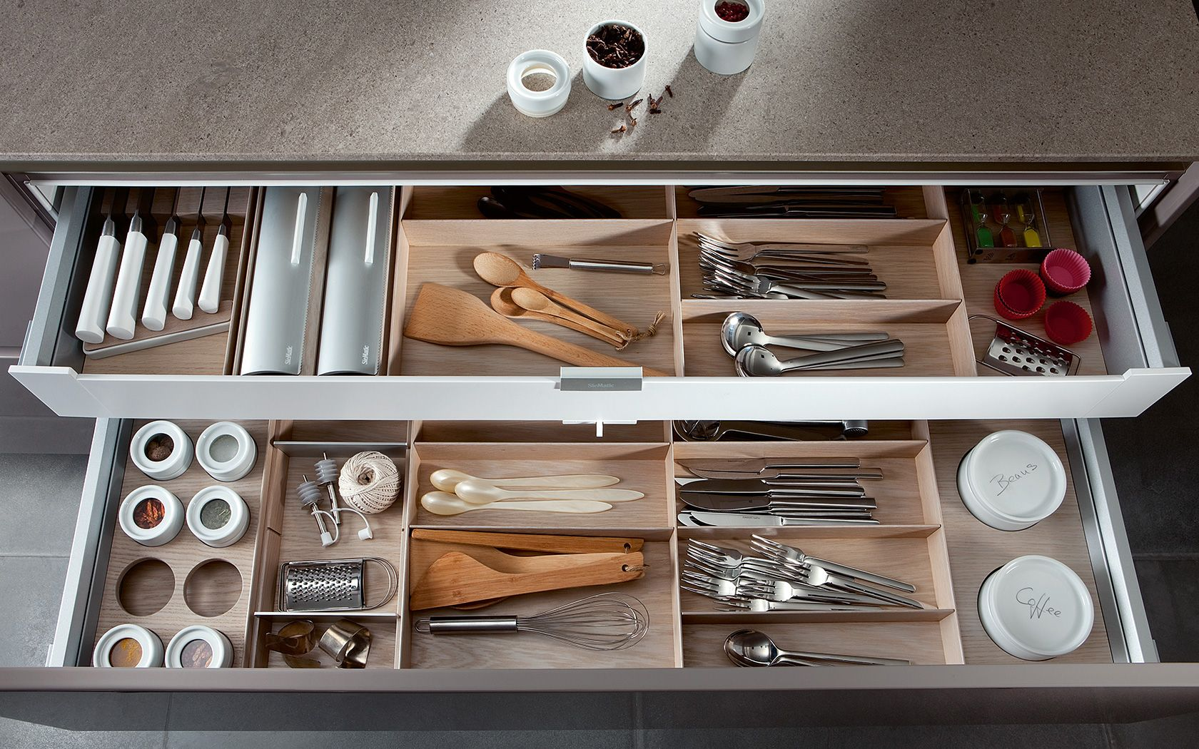 SieMatic | Kitchen - Features and quality - Interior accessories
