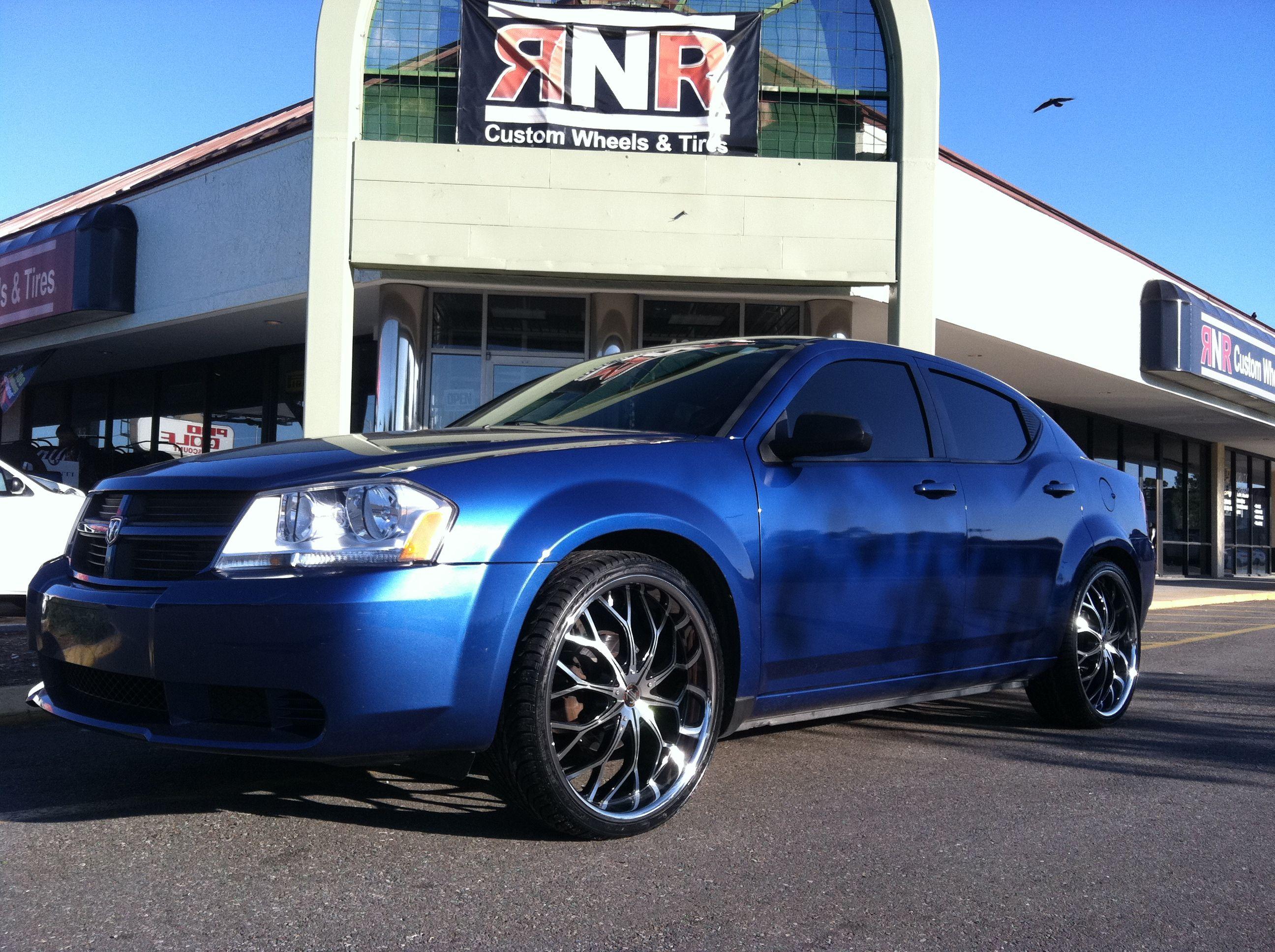 Dodge Avenger With Wheels View Full Size Dodge Avenger Custom Wheels Dodge