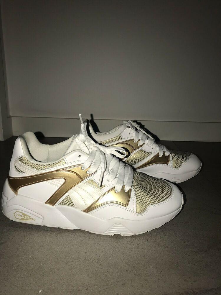 puma trinomic (whitegold) 5.5 UK #fashion #clothing #shoes