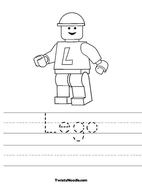 Lego Worksheet creator | Legos | Lego coloring pages, Lego ...