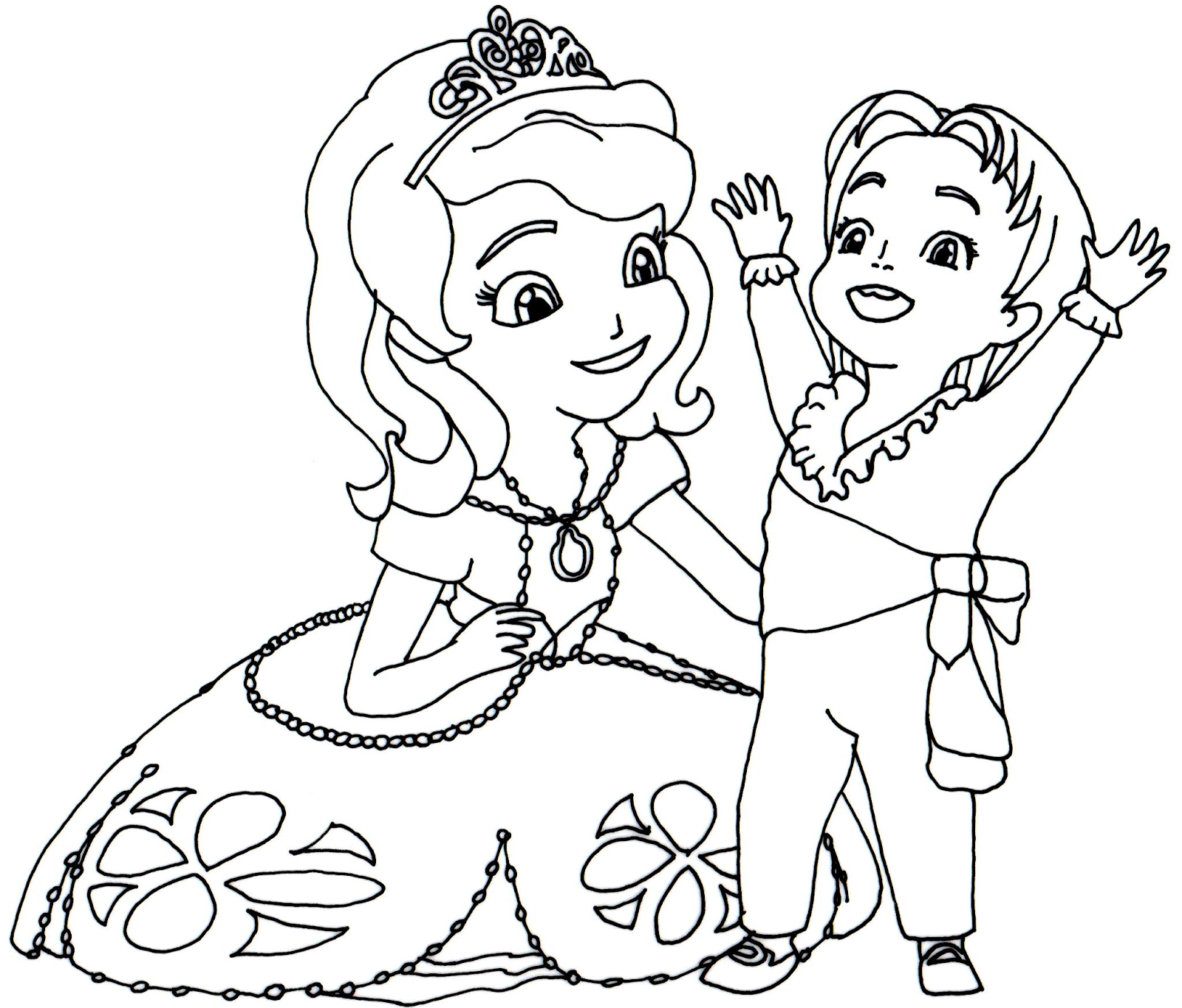 sofia the first coloring pages to print disney coloring pages on pinterest coloring pages - First Coloring Book