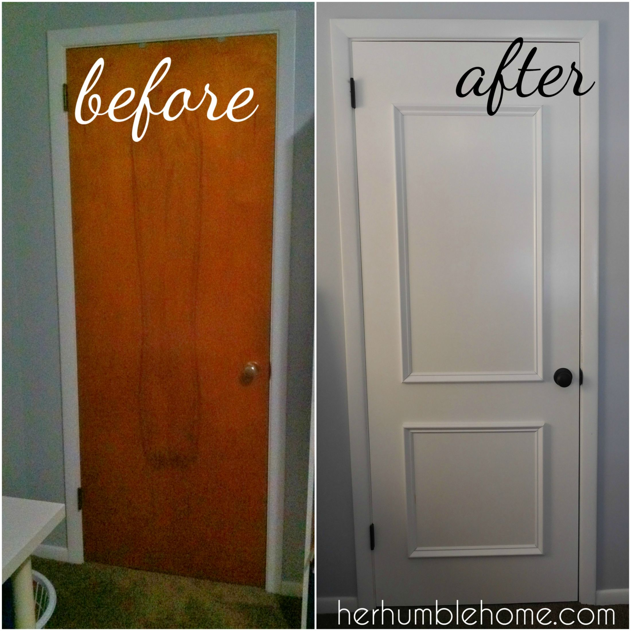 Photo of Door Update Transformed our ENTIRE Home… on a budget