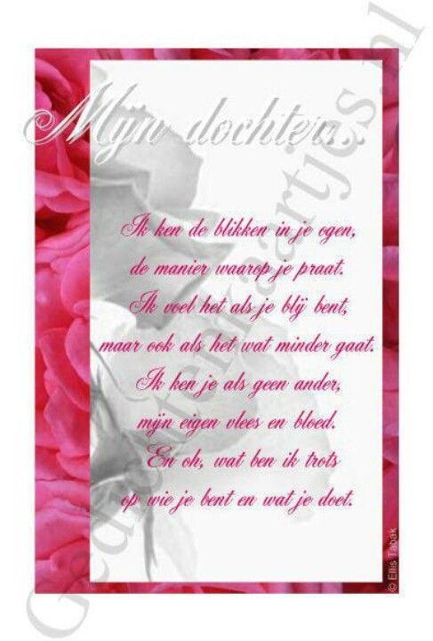 Uitzonderlijk Verjaardagsgedicht Voor Mijn Dochter – Tandem K @CP76
