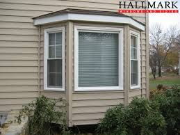 Image result for bay window vinyl exterior trim ideas