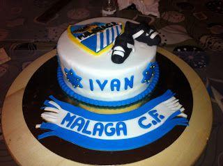 TARTA MALAGA CLUB DE FUTBOL