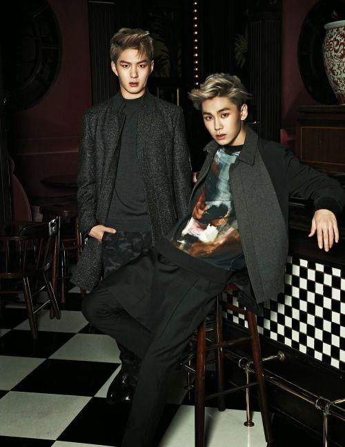 BTOB Changsub & Ilhoon for Arena Homme Plus 1000x1295