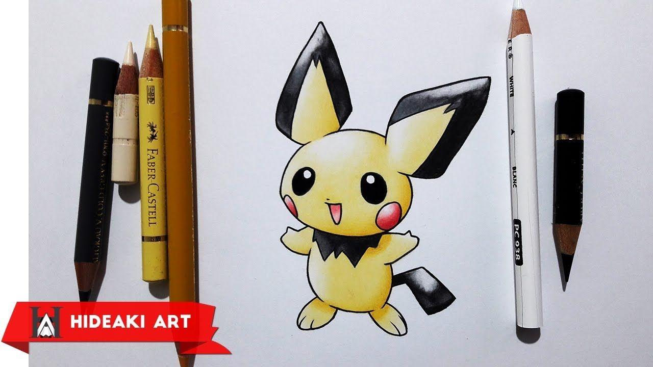 Speed Drawing Pichu || Pokemon #172