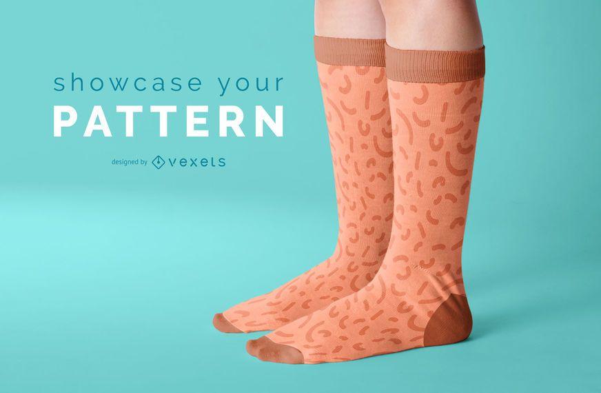 Download Socks Mockup Design Ad Sponsored Affiliate Design Mockup Socks In 2021 Mockup Design Mockup Hoodie Mockup