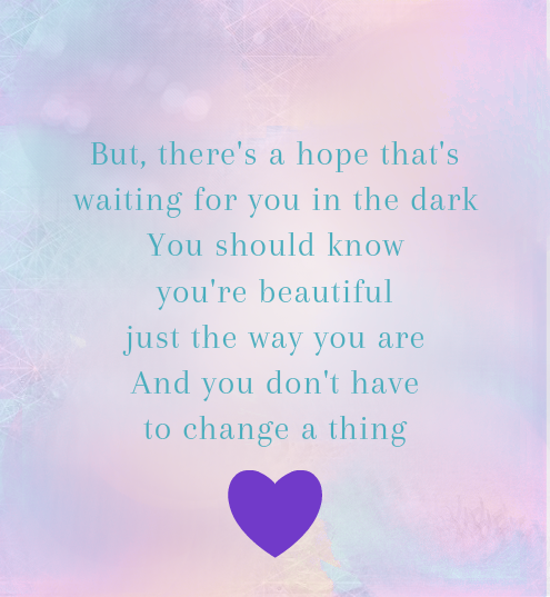 "Scars to your beautiful"" - Alessia Cara 