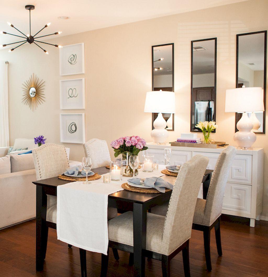 70 Genius Small Dining Room Design Ideas #Dining #Genius # ...