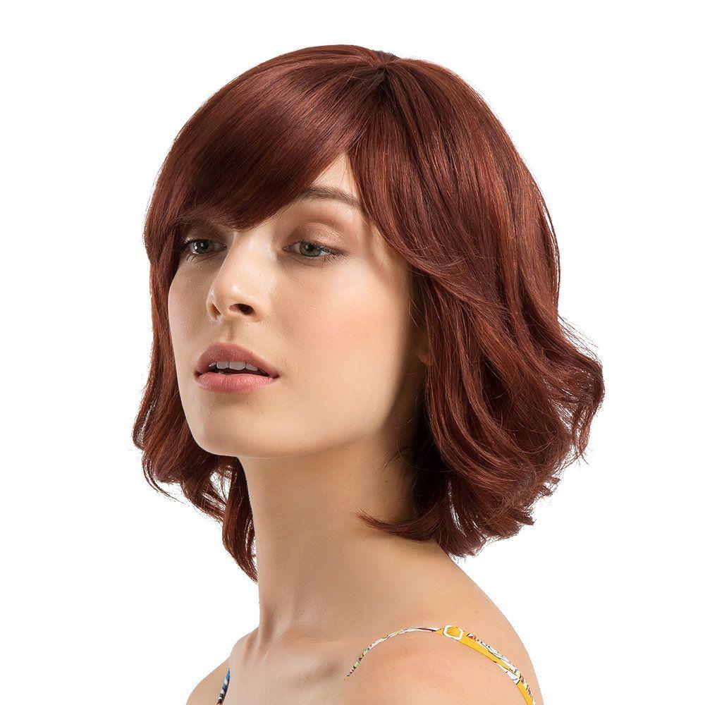 Park Art|My WordPress Blog_Pink Human Hair Wig With Bangs