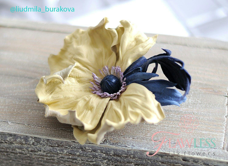 Пин от пользователя Nickol на доске цветы из кожи | Цветы