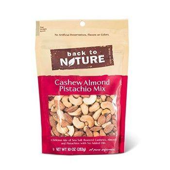 Back to Nature Cashew Almond & Pistachio Mix (9x9 OZ)