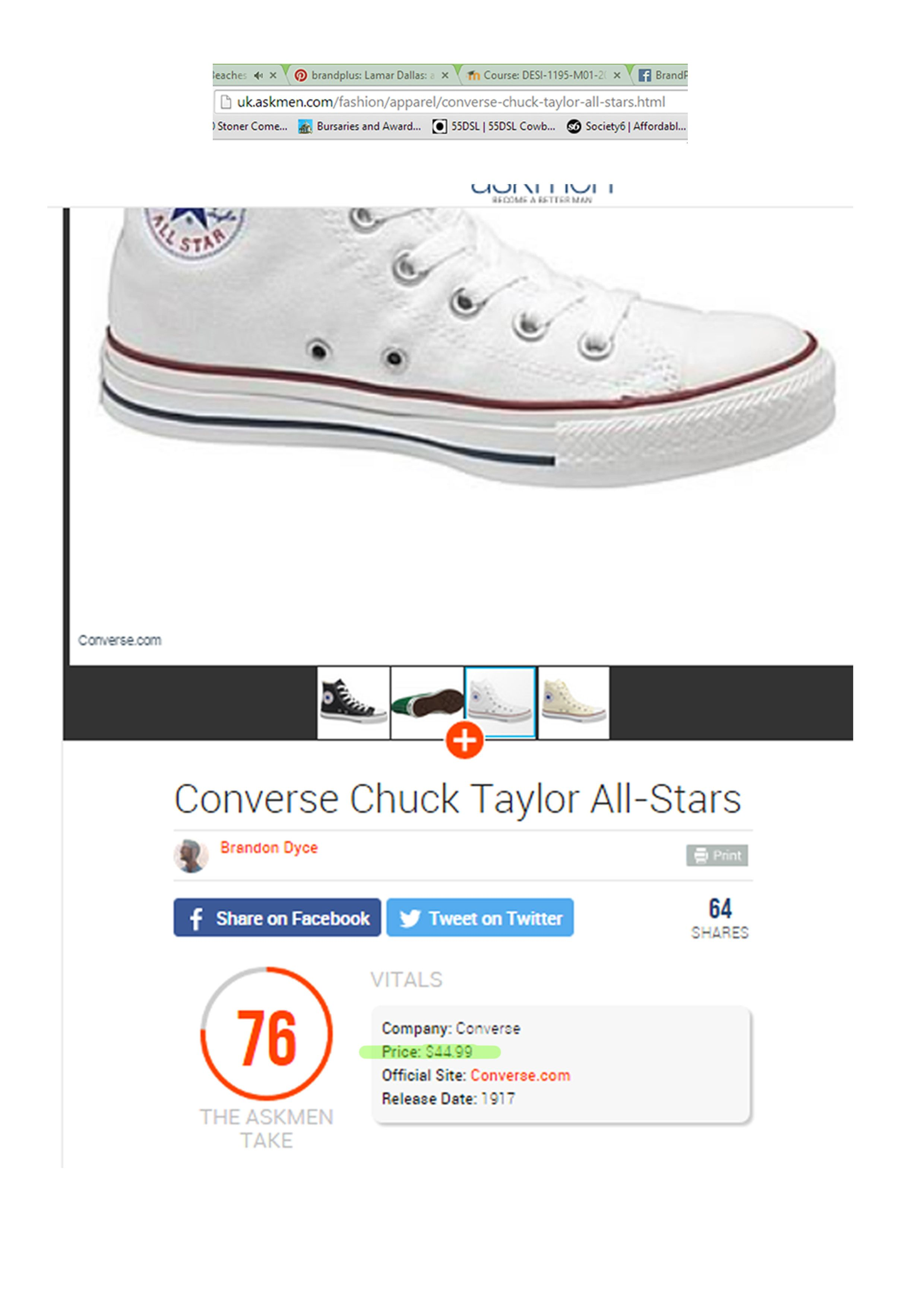 designer fashion a776a 2040c In america the average price for chuck Taylor s  40, This is cheap when  compared to other trainers such as nice Airmax which are  110