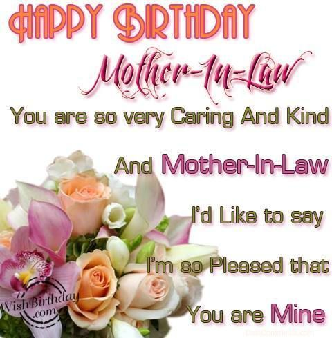 For Mother Law Happy Birthday Message Pinterest Mothers Really Happy Birthday Wishes To A Great