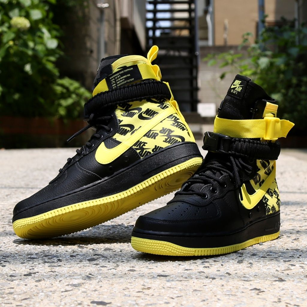 Nike SF AF1 Air Force One High Black