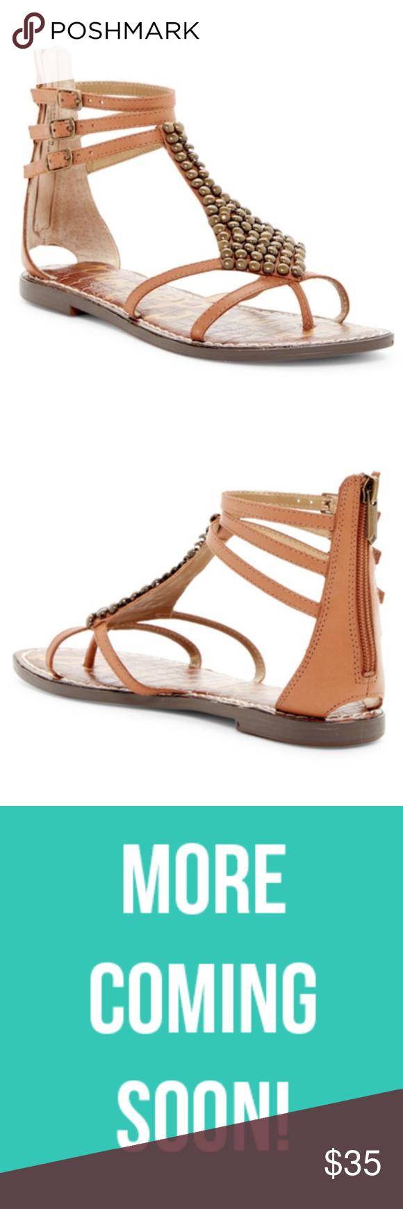 Sam Edelman Ginger Beaded Gladiator Sandal