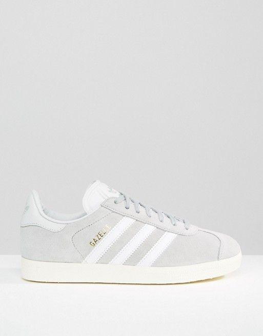 finest selection 187e7 0e224 Adidas   adidas Originals Unisex Grey Suede Gazelle Trainers