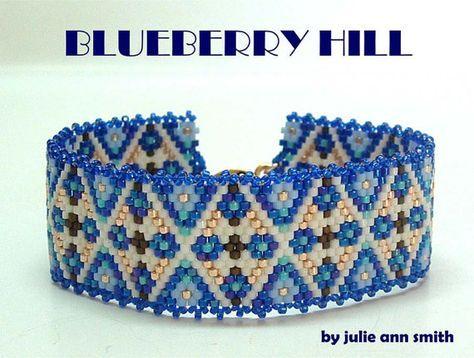Julie Ann Smith Designs BLUEBERRY HILL Odd por JULIEANNSMITHDESIGNS