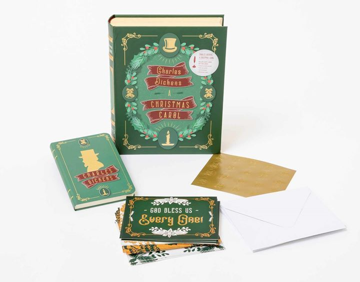Gorgeous Christmassy notecards for Dickens lovers