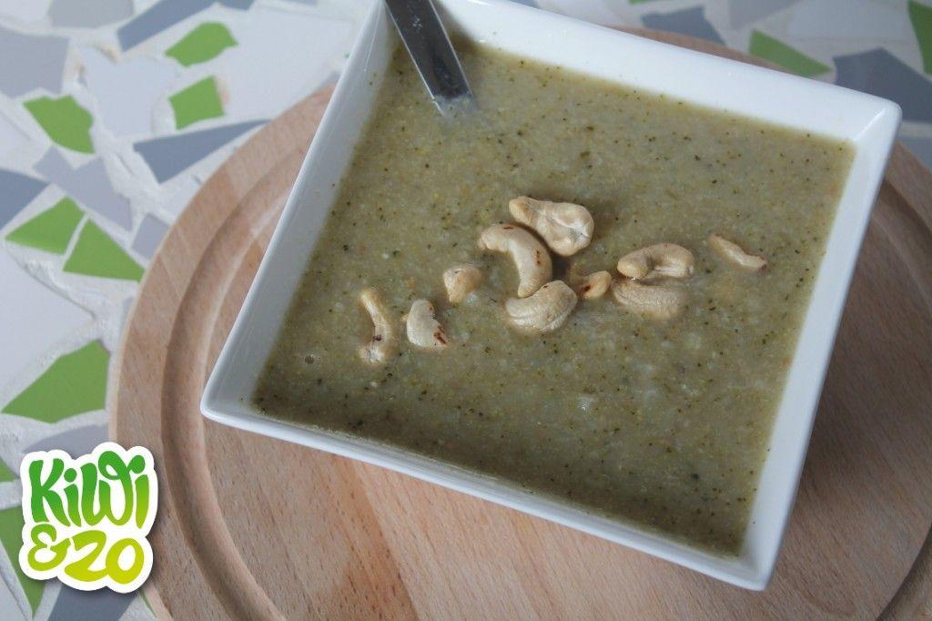 Dag 24: Broccoli-bloemkoolsoep