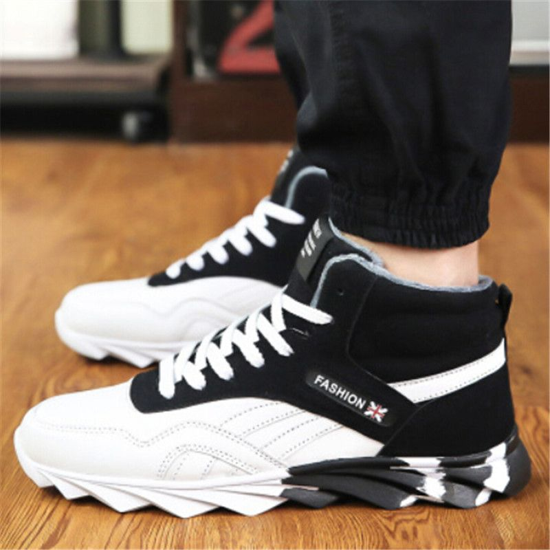 62ec05c37 2016 высокие кроссовки зимняя обувь мужчины кроссовки спортивная обувь  теплые кроссовки для мужчин кроссовки 39-44
