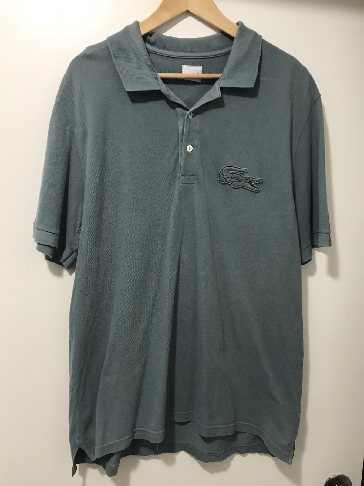 Lacoste rare size big gator logo short sleeve polo shirt mens 11l lacoste rare size big gator logo short sleeve polo shirt mens 11l 4xlt 4xl f30 common shopping pinterest lacoste polo shirts and polos sciox Images