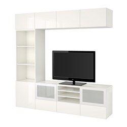 Combinazioni - BESTÅ sistema componibile - IKEA | Porte ...